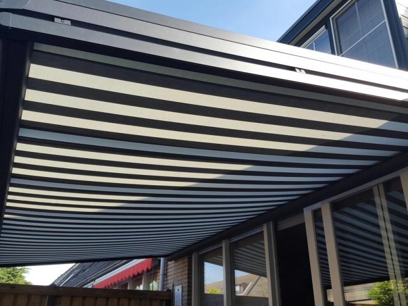 Zonwering In Rotterdam : Verzo zonwering onder een veranda aanhuiszonwering spijkenisse