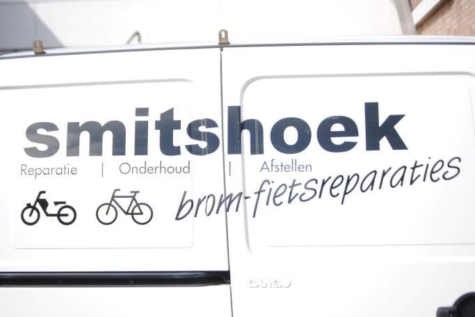 Smitshoek brom/fiets