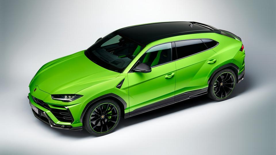 Urus in der Edition Pearl Capsule: Auf zu neuen Abenteuern in Farbe mit dem Lamborghini Urus