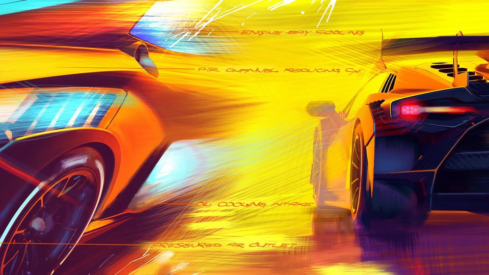 Premiere Lamborghini Super Trofeo EVO II