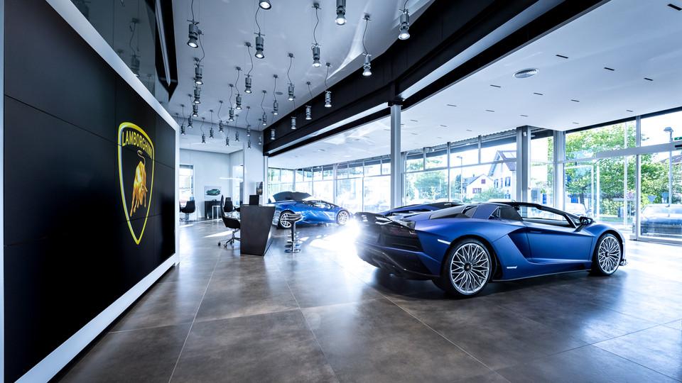 Grand Opening Lamborghini Zürich