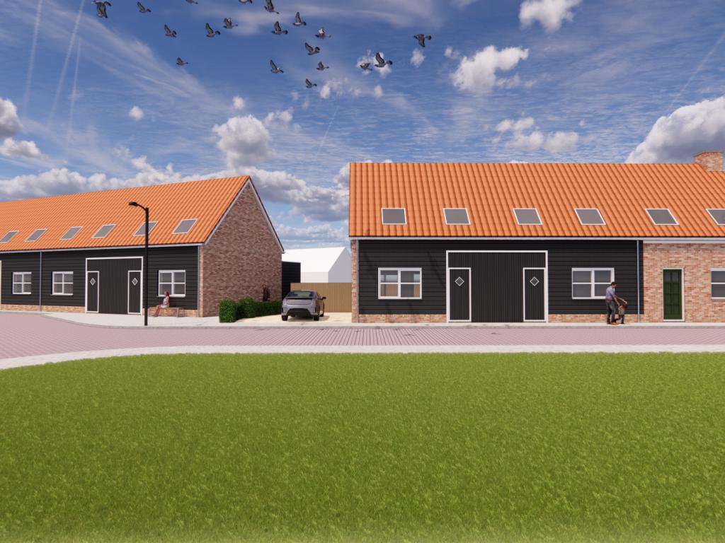 De Nieuwe Vest tussenwoning, bouwnummer 2 , Sint-Maartensdijk