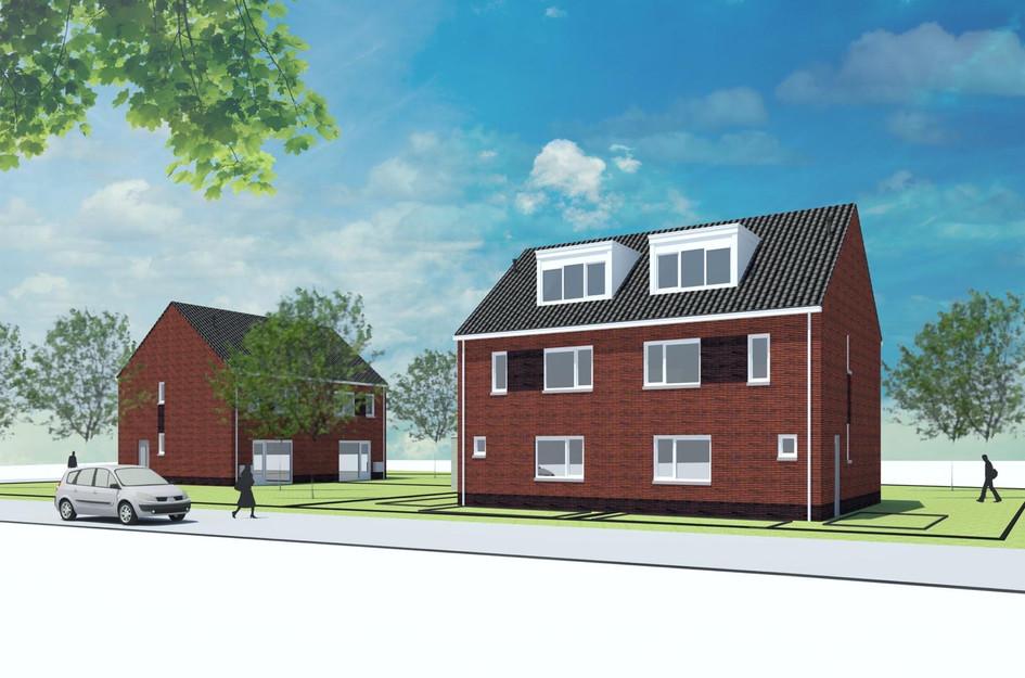 Type A - Twee-onder-een-kap woning, bouwnummer 1