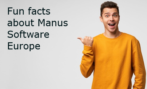 Facts & Figures Manus Software Europe BV