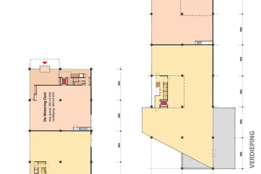 Oosteinde - Kantoorgebouw De Wetering