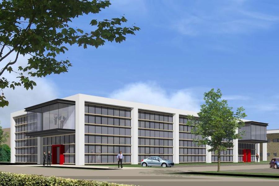 Oosteinde - Bedrijfsgebouw De Wetering , Warmond