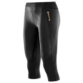 A400 driekwart tight compressiebroek dames