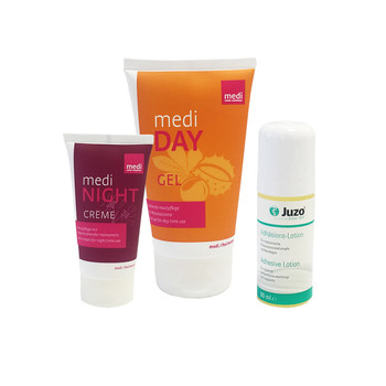 Day Gel, Huidlijm, Night Crème