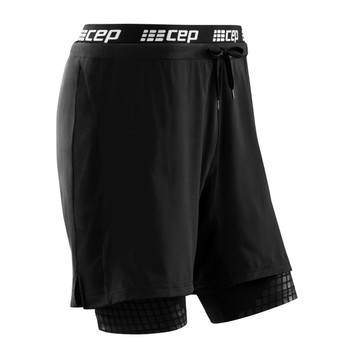 Training 2-in-1 Shorts compressiebroek heren
