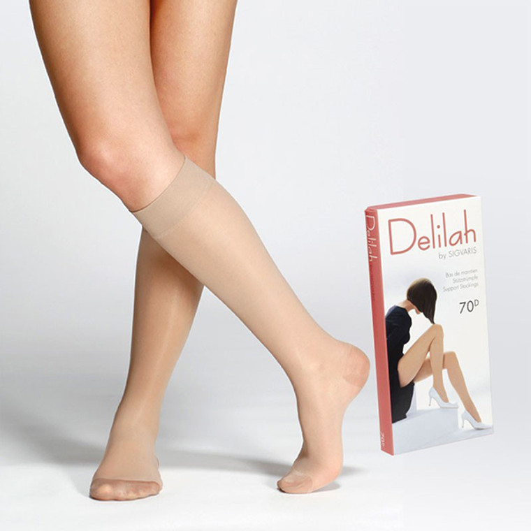 Sigvaris - Delilah pantykous 70 denier maat Schoenmaat 35-37