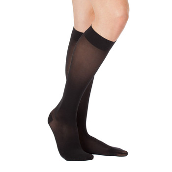 Women knee-high translucent