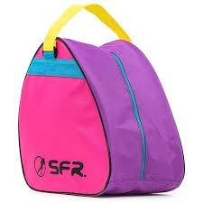 Ice & Skate Bag Pink Purple Blue Yellow - Skate / Schaats Opbergtas