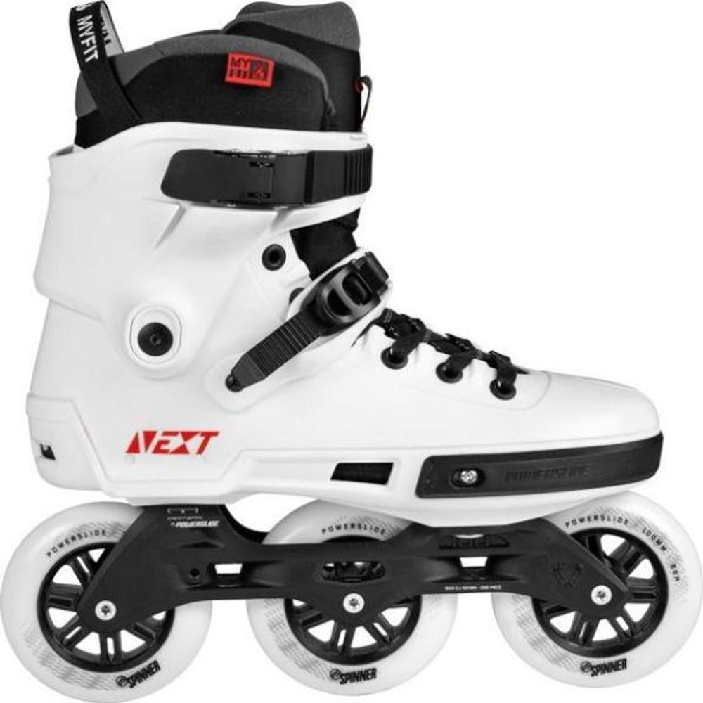 1d697e404ac Powerslide - Next 100 White - Tri Skates