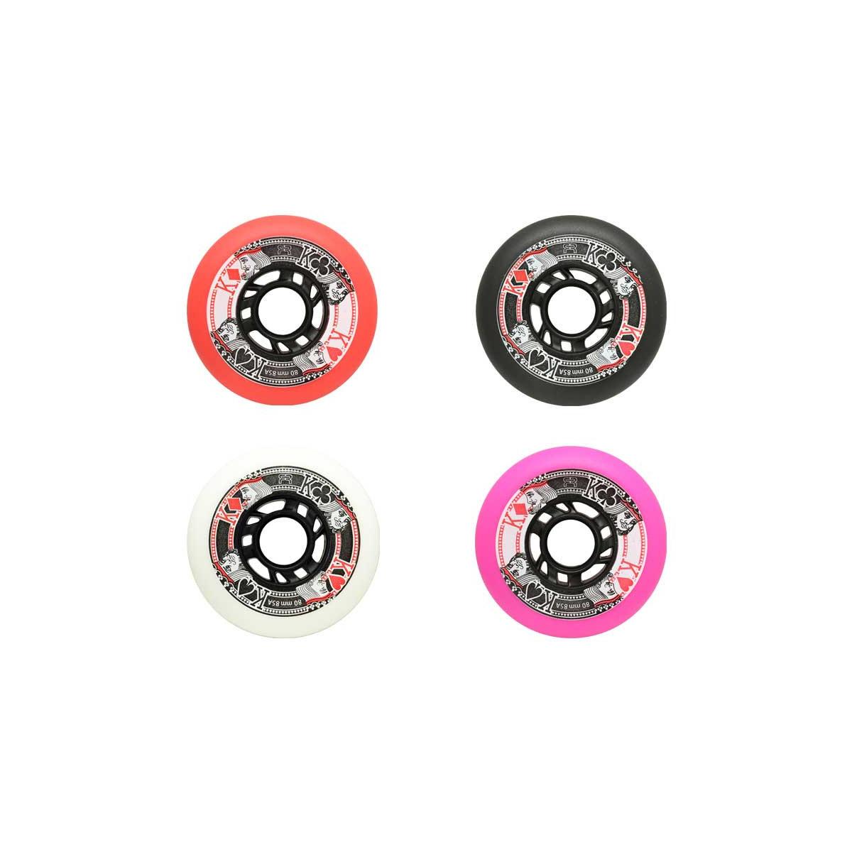 72mm Street Kings Wheels 85A - Skate Wielen