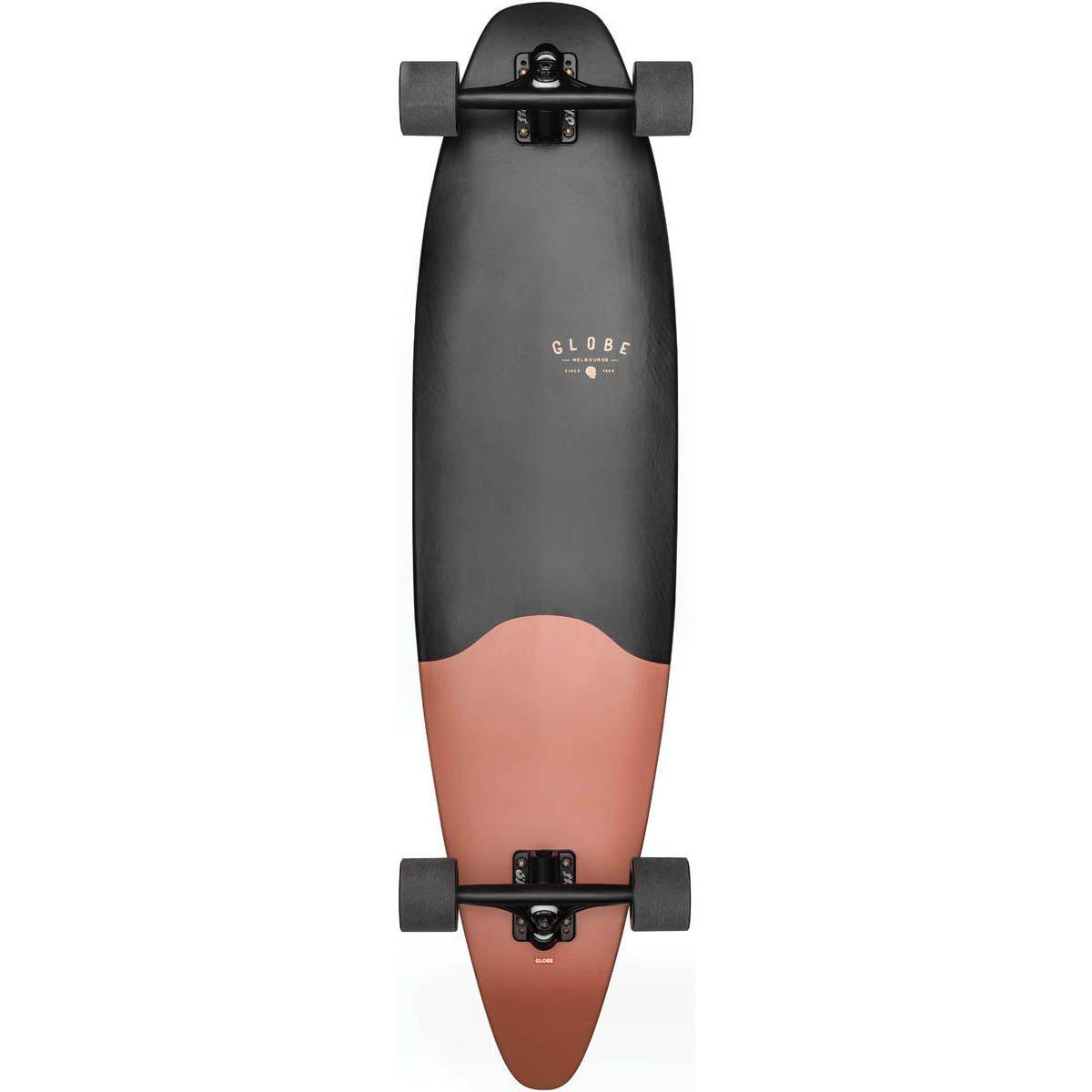 Pinner Evo Matte Black Coral 40' - Longboard Complete