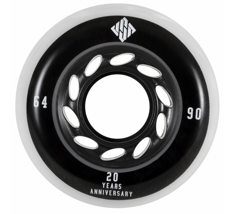 64mm Team Wheels 90A - Stunt Skate Wielen