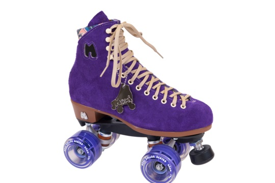 Lolly Taffy Purple Rollerskates