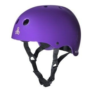 Dual Certified with EPS Glossy Purple - Helm