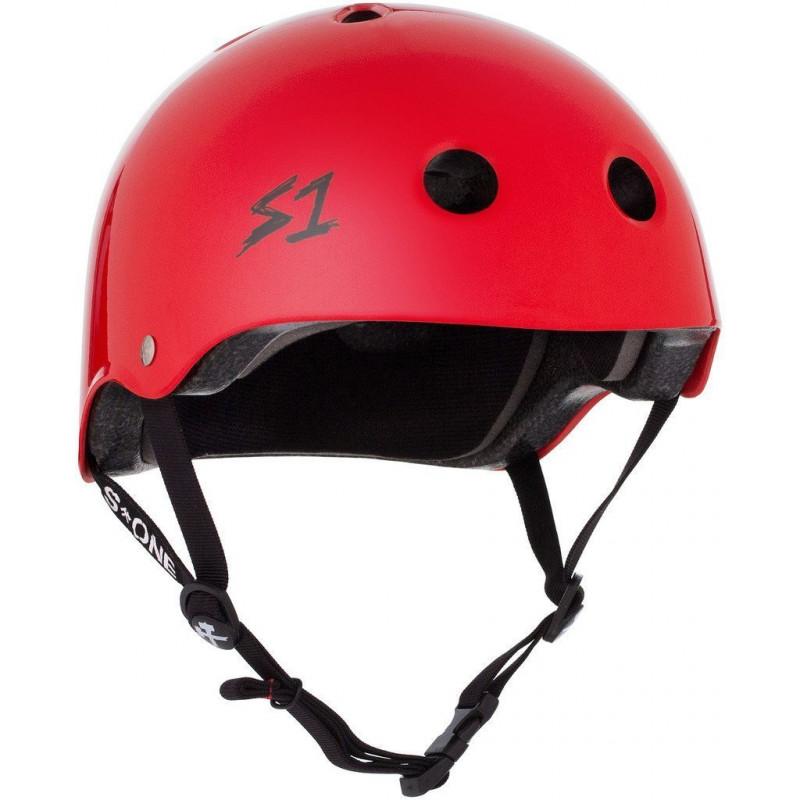 Lifer Helmet bright red - Skate Helm