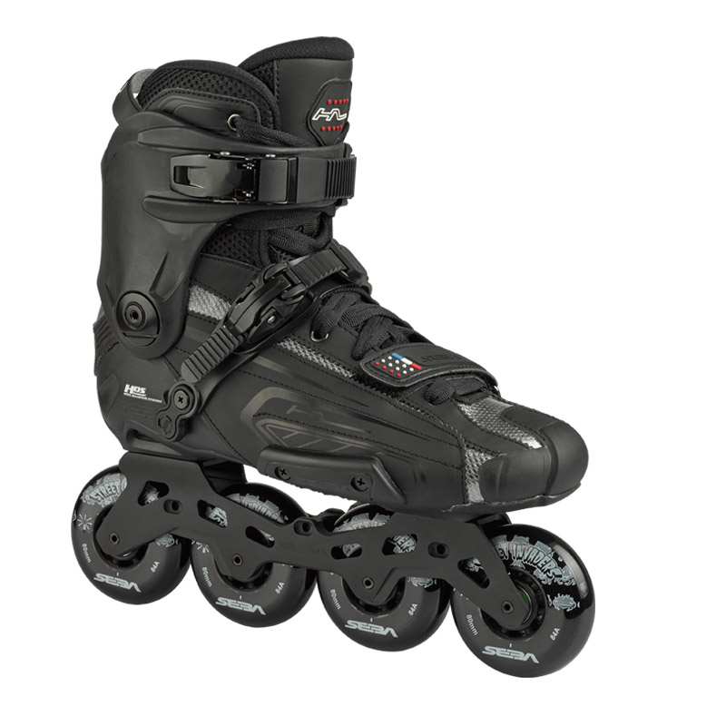 High Light Black Free Skates
