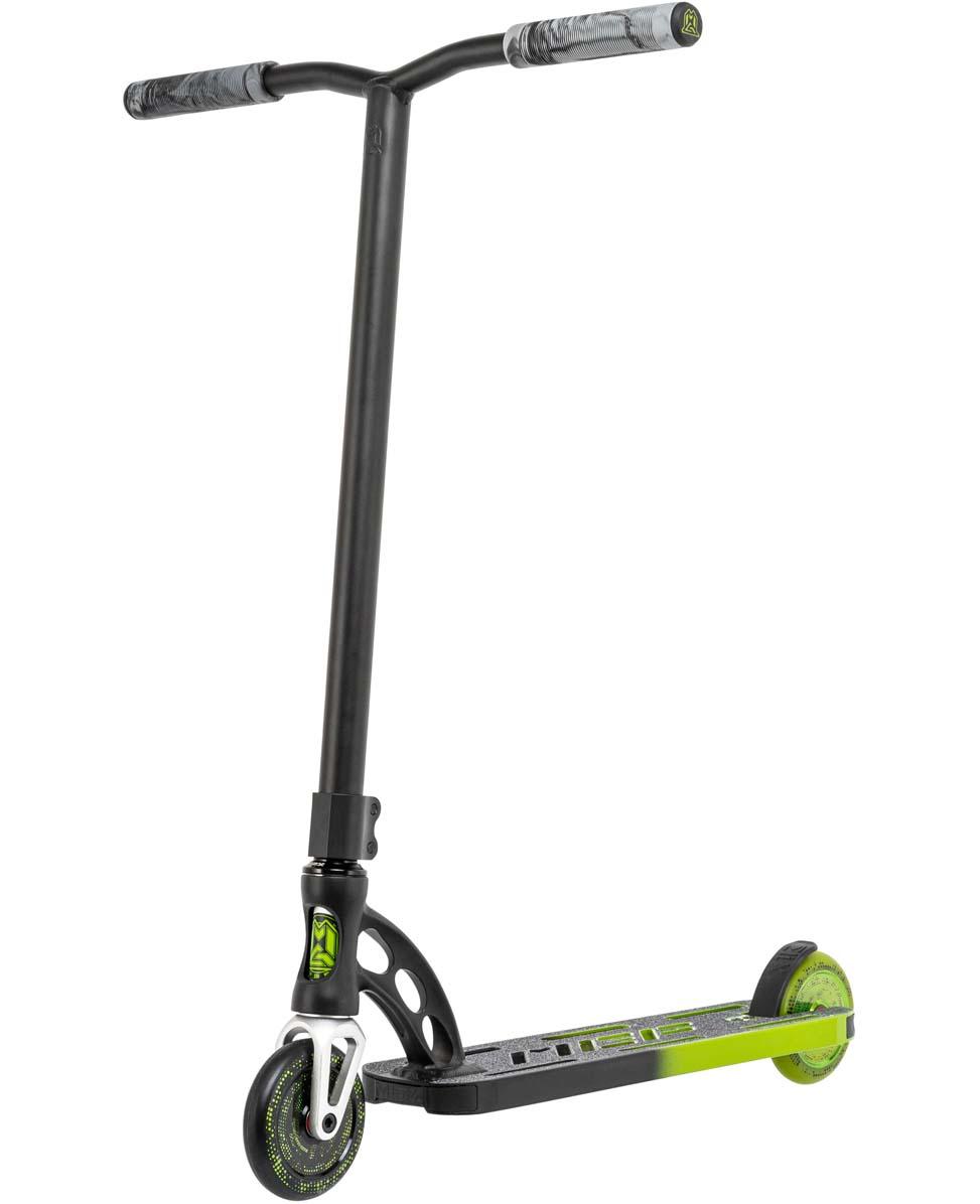 VX Origin Pro Faded Black/Green - Stunt Step Complete