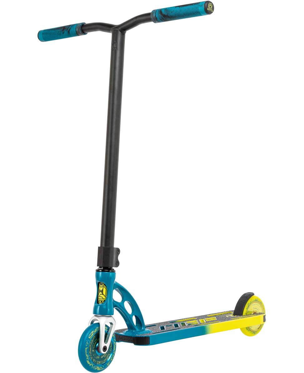 VX Origin Pro Faded Petrol/Yellow - Stunt Step Complete