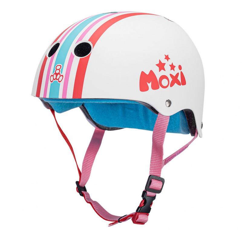 The Certified Sweatsaver Moxi Stripey - Skate Helm