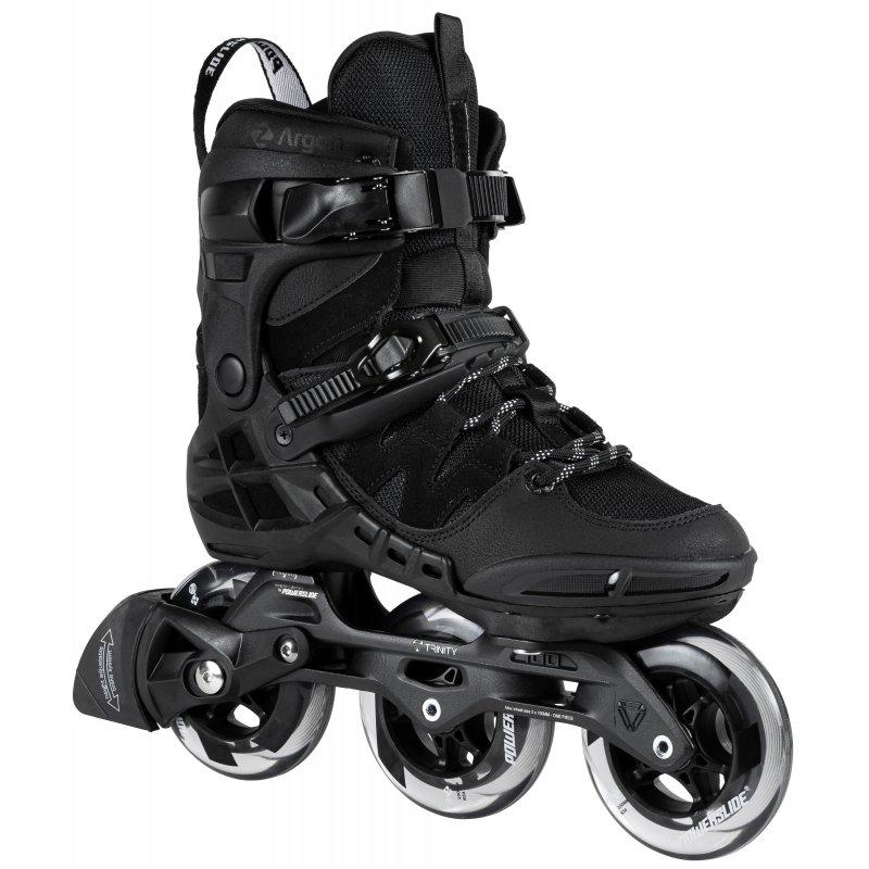 Phuzion Argon Black 100 - Tri Skates