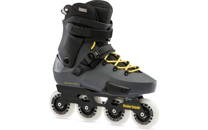 Twister Antracite Geel - Free Skates