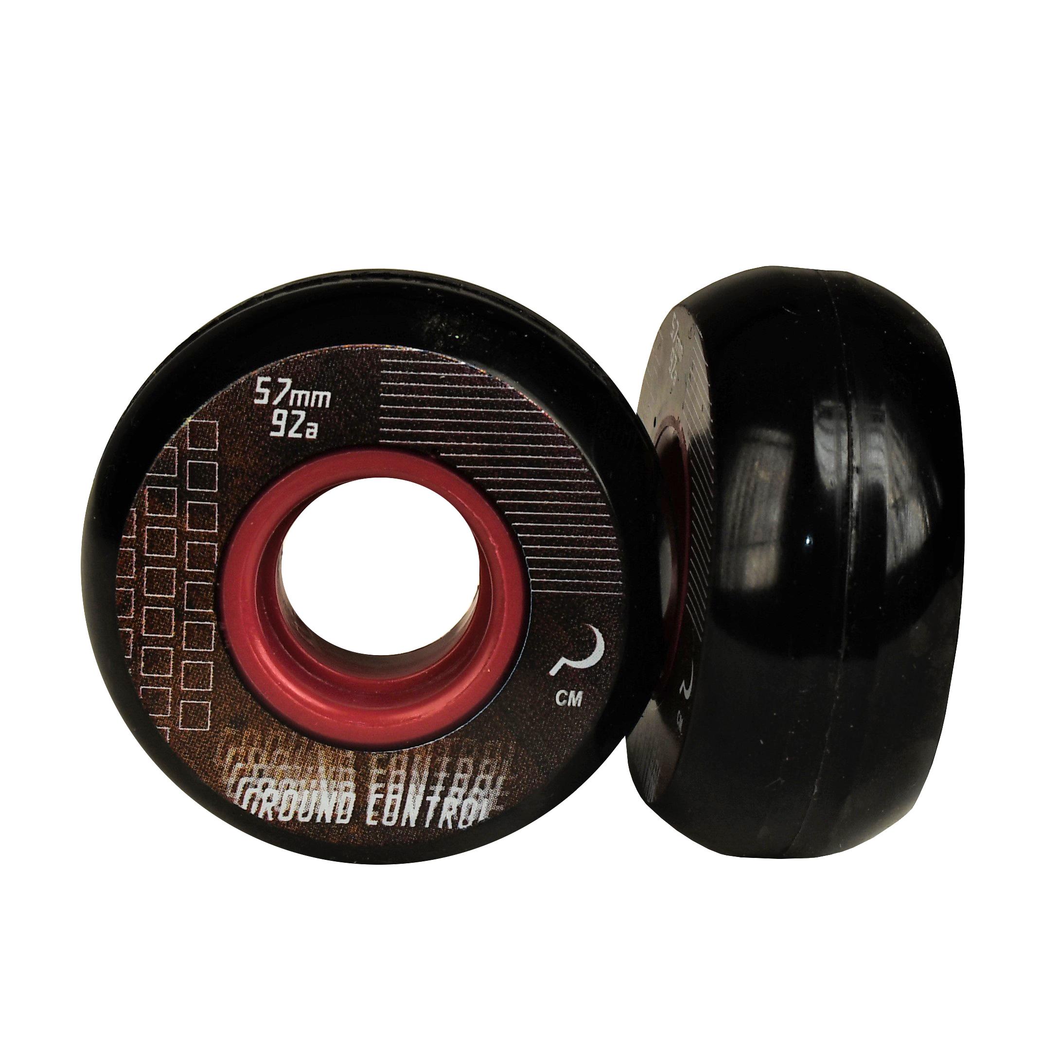 GC Wheel 57mm 92A black/purple - Skate wielen