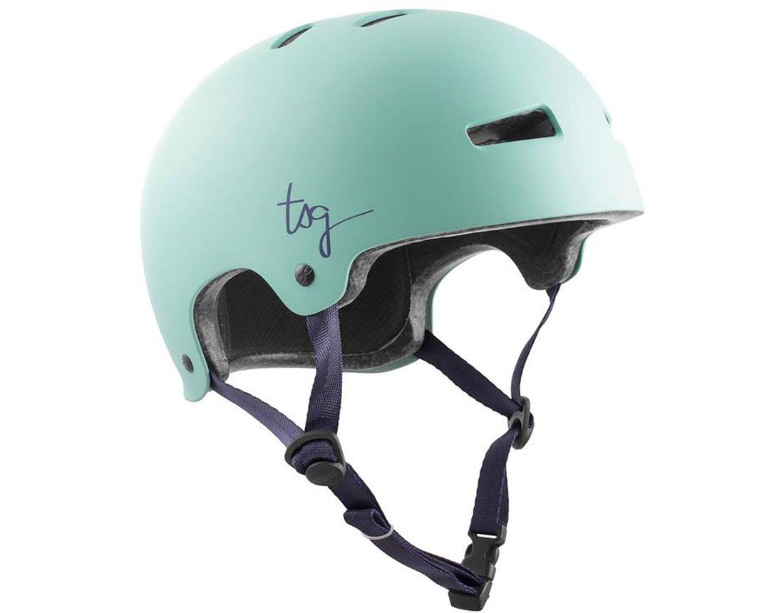 Evolution Solid Color Satin Mint W - Skate Helm