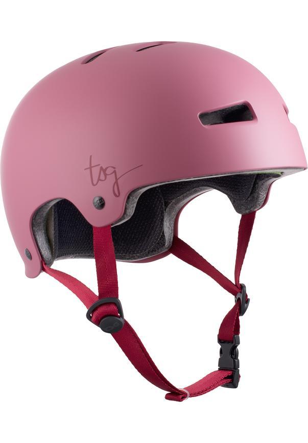 Evolution Solid Color Satin Sakura W - Skate Helm