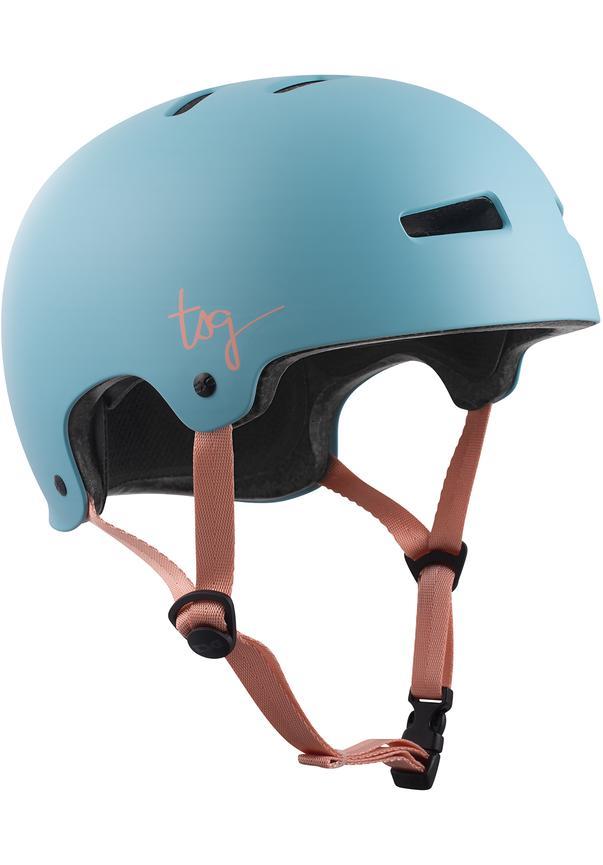 Evolution Solid Color Satin Porcelain Blue W - Skate Helm