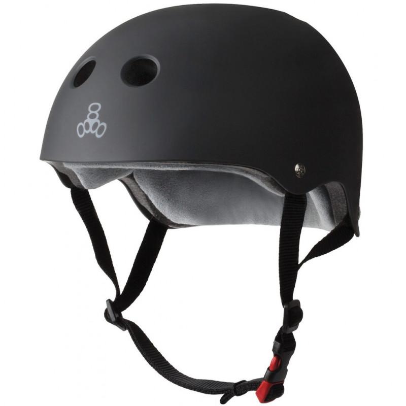 The Certified Sweatsaver Helmet Matte Black - Skate Helm