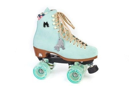 Lolly Floss Leaf Rollerskates