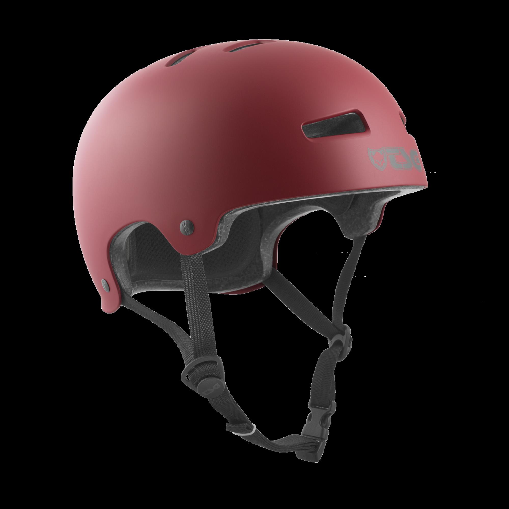 Evolution Solid Color Satin Oxblood - Skate Helm