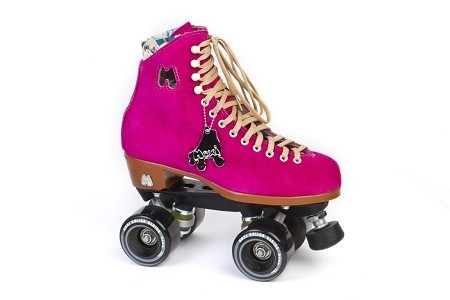Lolly Fuschia Rollerskates
