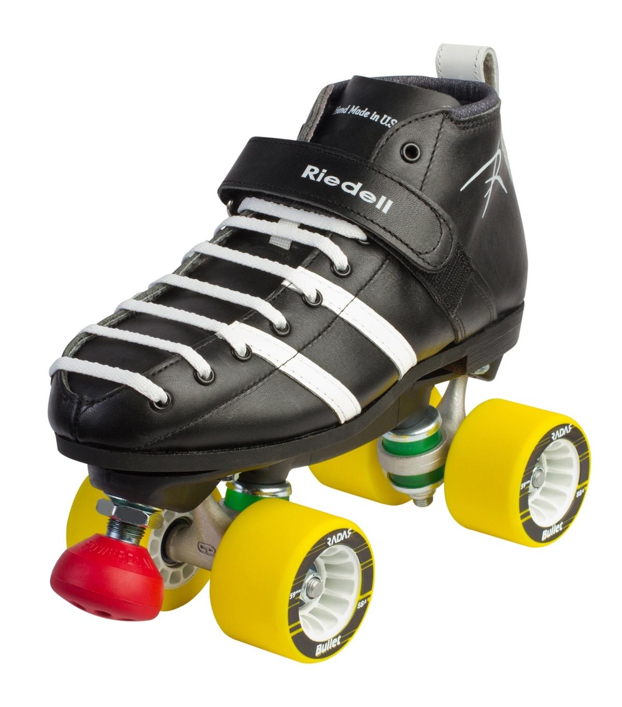 Vandal Black - White - Derby Roller Skates