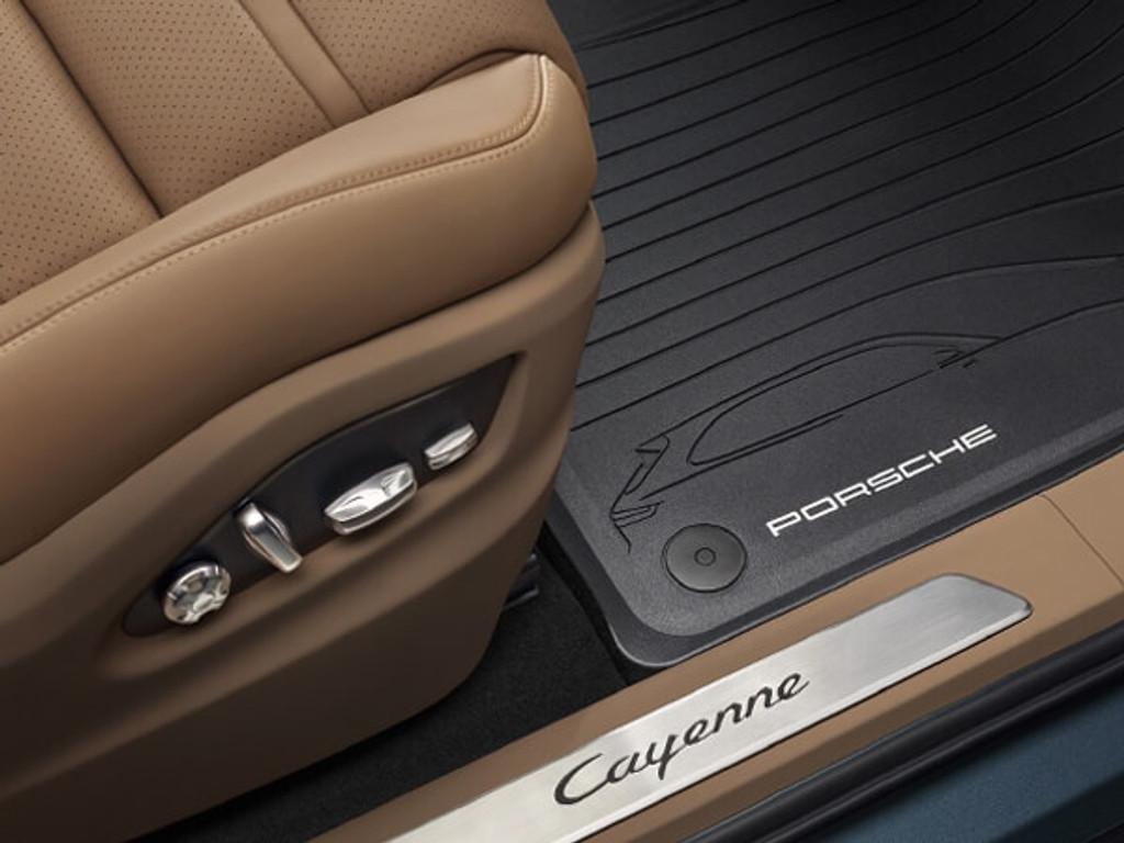 Porsche Cayenne - Allweather vloermatten