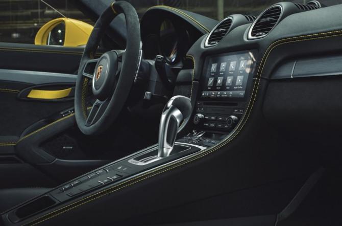 Porsche 718-modellen PDK