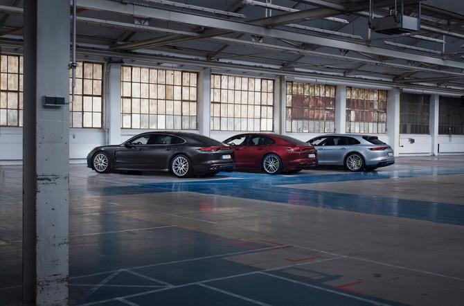 Nieuwe plug-in hybrideversies voor Porsche Panamera