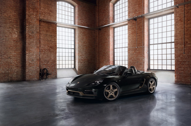 Porsche Boxster 25 Years Edition
