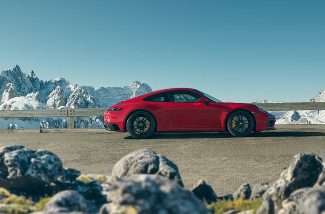 De nieuwe Porsche 911 GTS-modellen