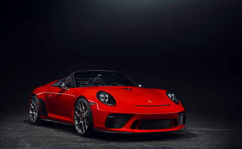 Onthuld op autoshow van Parijs: De nieuwe 911 Speedster