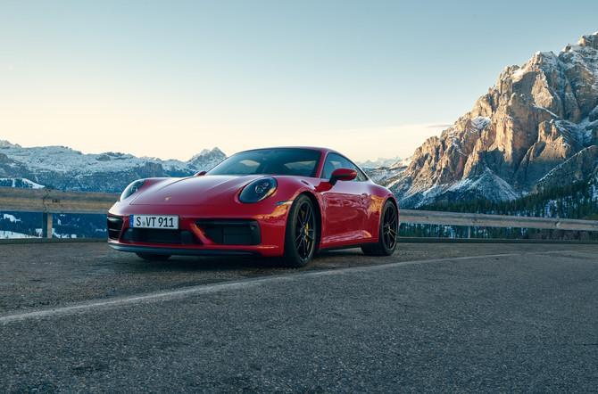 De nieuwe Porsche 911 GTS-modellen: opvallender en dynamischer dan ooit