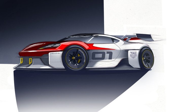 Porsche Studiemodel