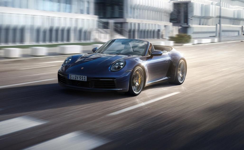 Introductie nieuwe Porsche 911 - 992