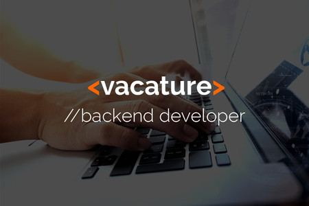 Vacature Backend developer (m/v)