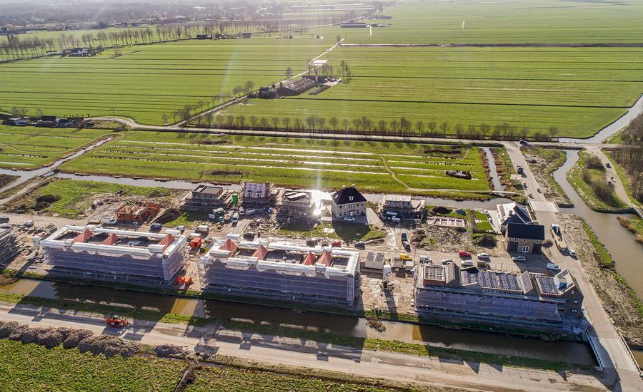 Broekgraaf - laatste kavels aan de ecologische zone in Leerdam