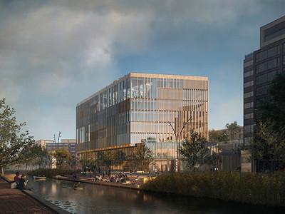 Nieuwe stadhuis Dordrecht lost kantoorprobleem op